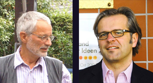 Dr. Sid Auffarth (li.), Prof. Dr. Paul Zalewski