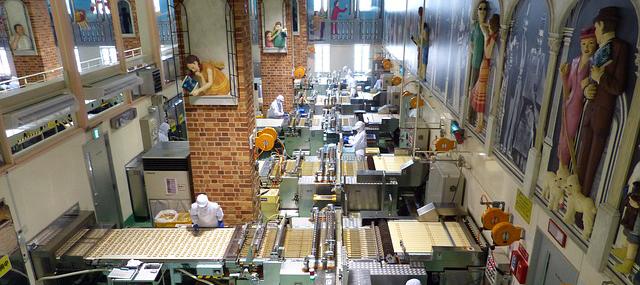 Schokoladenfabrik in Japan