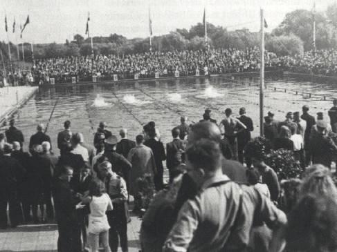 Schwimmveranstaltung in Hannover. Quelle. NISH